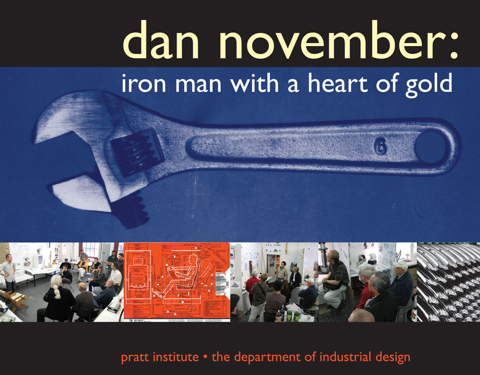 dan november's memorial poster
