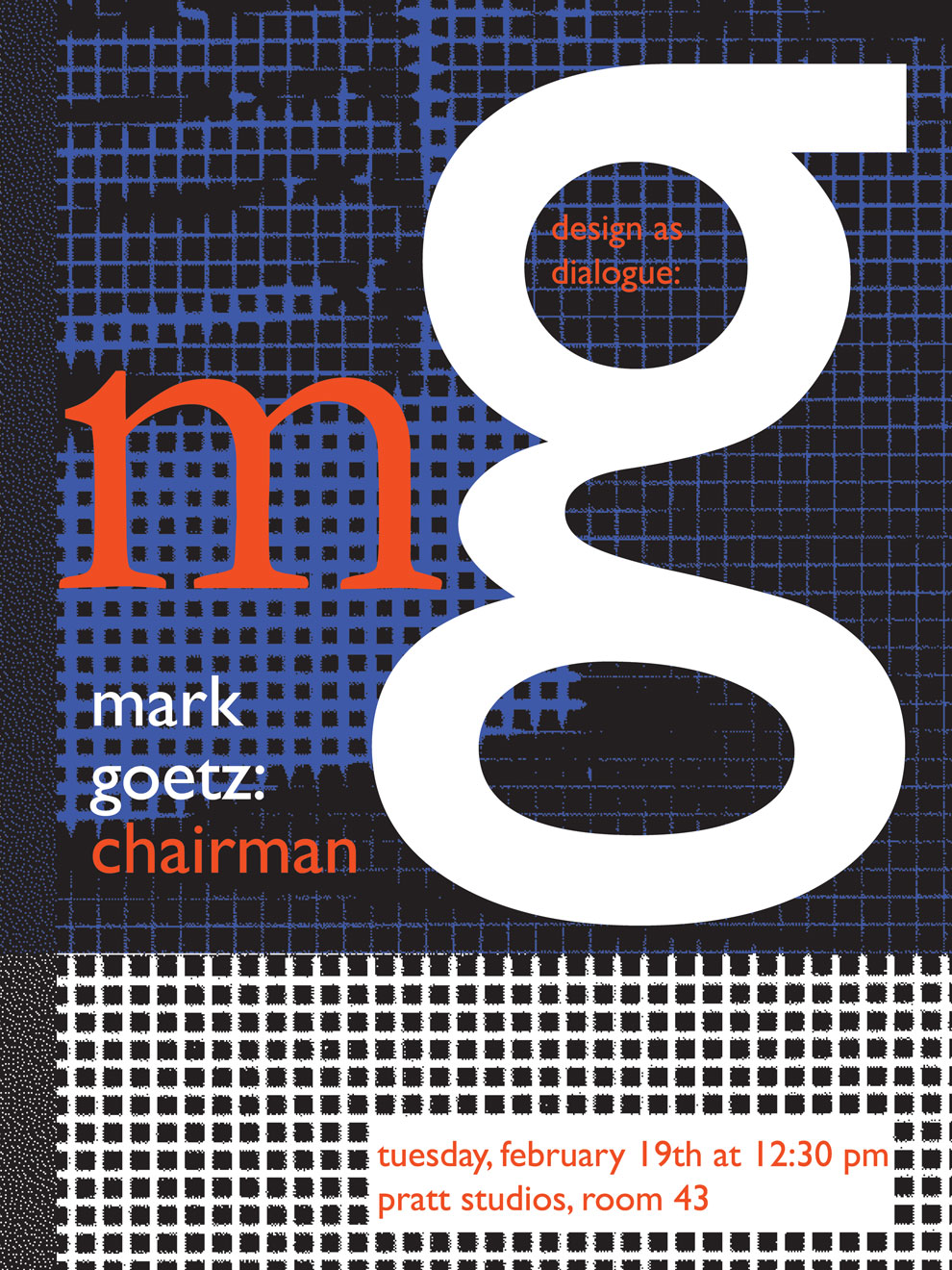 mark goetz, design as dialogue poster