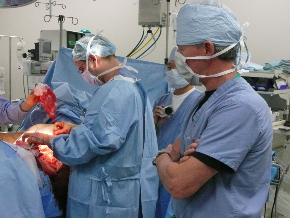 jeff kapec in surgery, cleveland, ohio 2008