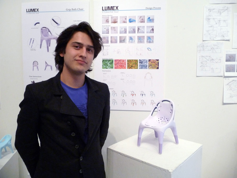 alvaro uribe's final presentation for his lumex concept