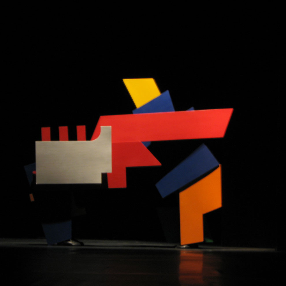 bauhaus 90th anniversary performance piece, image seven