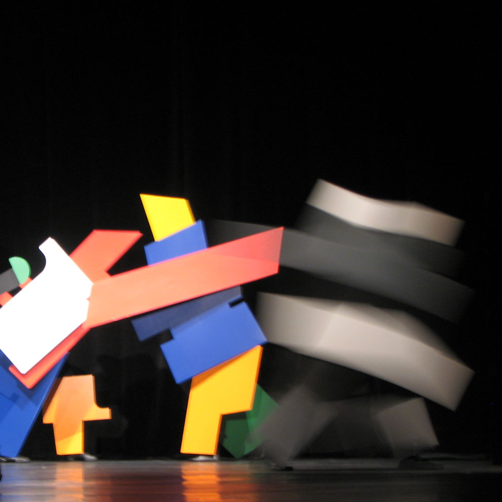 bauhaus 90th anniversary performance piece, image three