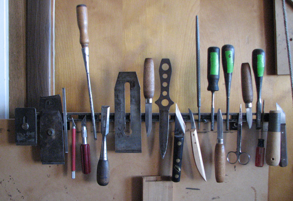 john's tools, brighton woodshop, number three