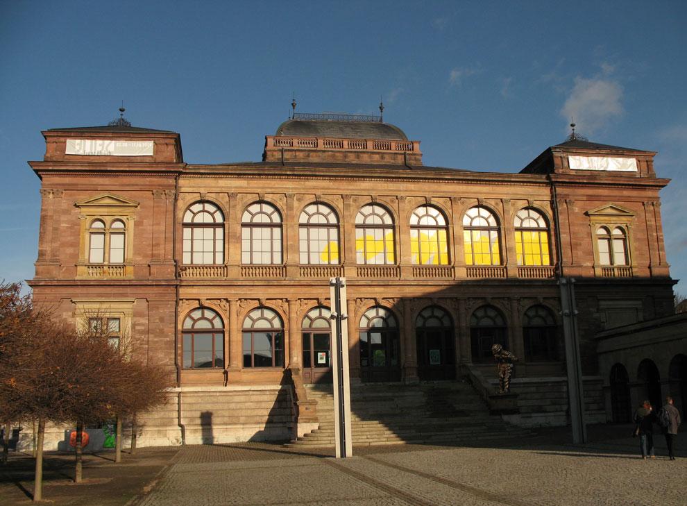 bauhaus 90: vom labor zum projekt exhibit, neues museum weimar, germany