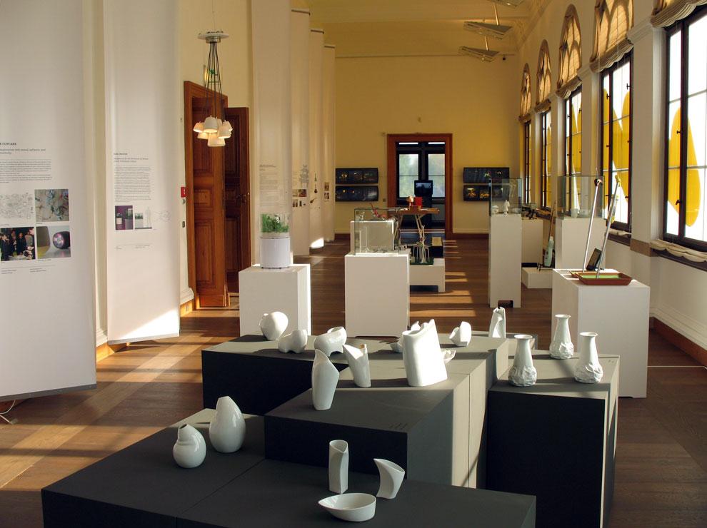 bauhaus 90: vom labor zum projekt exhibit, neues museum weimar, germany 2009