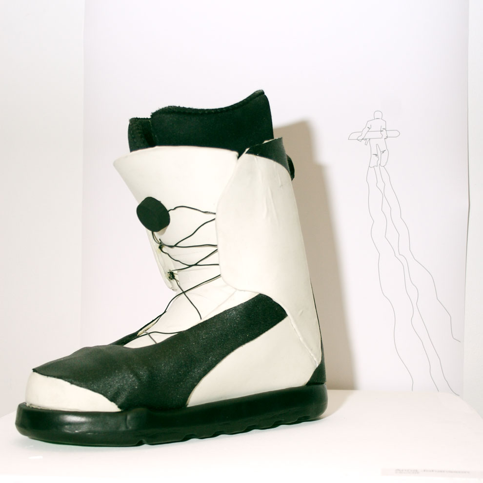 anna johansson's on / off snowboarding boot design, december 9th 2009