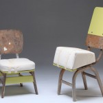 two chairs, from noam tabenkin's furniture hospital project 2010