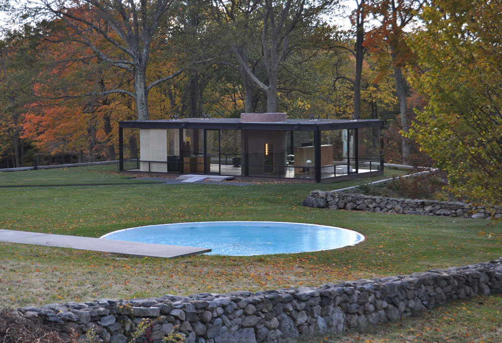 Glass House By Philip Johnson : Visualsyntax mm roadtrip philip johnson s glass house