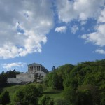 walhalla in the month of may on the danube. bavarian manifest memorials . . .