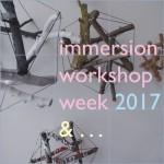immersion workshop week 2017. photography: matthew burger